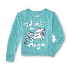 Joe Boxer Girl's Pajama Top & Fleece Pants - Unicorn - Kids - Kids' Clothing - Girls' Clothing - Girls' Sleepwear - Girls' Pajama Sets