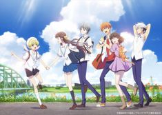 Fruits Basket Anime Will Have Big Announcement After Episode 25 . Fruits Basket manga will have a declaration after its scene on Friday . Kyo Manga, Manga Anime, Anime Art, Anime Kiss, Manga Girl, Fruits Basket Anime, New Fruit, Summer Fruit, Spring Fruits