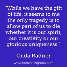 GILDA RADNER....