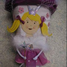 Die Bastel-Elfe, das Bastelportal mit Ideen und einem Bastelforum. - Schultüte Prinzessin