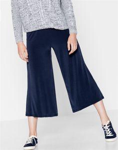 :Spódnico-spodnie z połyskiem