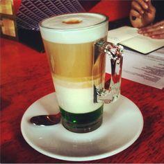 #Fruit Line: Green #Apple #Coffee by #Rigello on @Instagram