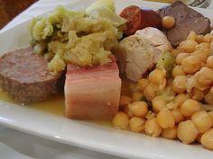 Gastronomía, cocido toledano, lugar de procedencia...