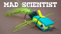 Fly Tying - Mad Scientist (Popper de EVA)