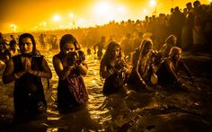 The Maha Kumbh Mela, the largest religious gathering on earth, is held every 12 years on the banks of Sangam, the confluence of the holy rivers Ganga, Yamuna and the mythical Saraswati