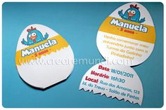 Creare Mundi - Festas Exclusivas: Convite Galinha Pintadinha Bolo Laura, Lottie Dottie, Baby Party, 2nd Birthday Parties, First Birthdays, Party Themes, Projects To Try, Baby Shower, Invitations