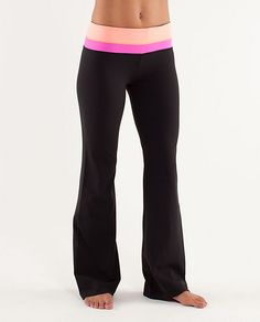 Lululemon.  I live in these yoga pants on the weekends!  Once you wear these you won't settle for anything else...love 'em!