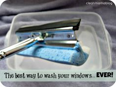 The Only Way I'll Ever Wash Windows Again