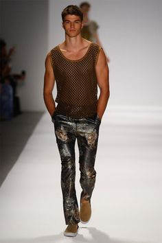 Male Fashion Trends: Custo Barcelona Spring/Summer 2014 - New York Fashion Week #MBFW #NYFW