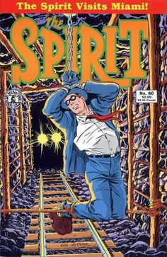 The Spirit #80, Will Eisner, bound men, cover art, comic books, classics, theme,