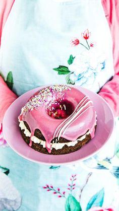 May Celebrations, Donut Holes, Donuts, Panna Cotta, Birthday Cake, Treats, Baking, Ethnic Recipes, Sweet