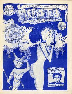 Mefistus N° 1  Esta es la primer número del fanzine de cómics «Mefistus, El Héroe de Nuestra Epoca»; ideado por Eduardo Elorz, y que junto a Walter Velásquez se materializó en abril de 1990. * Agradecimientos a Enrique Suárez Silva por conservar por más de 20 años copias originales excelentemente conservadas de este fanzine y regalármelas en julio de 2014. Las cuales ahora comparto con uds. en forma digital. Más información en y más Mefistus para descargar en: ...