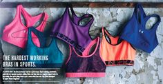 FIND YOUR PERFECT BRA  We've got the best sports bras in the game. And in the time it takes to  finish this quiz, you'll know which one was made just for you. Ready?