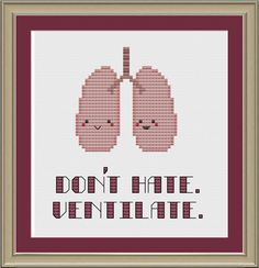 Human lungs: don't hate, ventilate :)