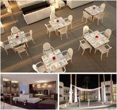 8 ultra-chic, modern las vegas wedding venues: Rumor Boutique Hotel    More info: http://www.littlevegaswedding.com/2012/10/modern-las-vegas-wedding-venues/