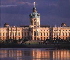 Das Schloss Charlottenburg, Berlin.