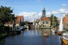 Hindeloopen - Wandel door de idyllische straatjes van deze Elfsteden stad met een prachtige haven