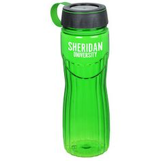 Unique ridged design and full-colour imprint make this custom sport bottle one of a kind!