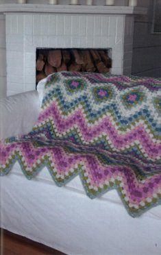 Motif Afghans [LA75438] - $4.99 : Maggie Weldon, Free Crochet Patterns