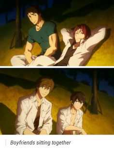 Free! Boyfriends - Sourin and Makoharu