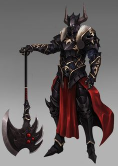 ArtStation - black knight, Wonil Kim