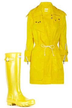 Designer Rain Boots and Raincoats - Stylish Raincoat and Rain Boot Pairings - Harper's BAZAAR