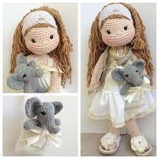 Resultado de imagen para muñecas amigurumi