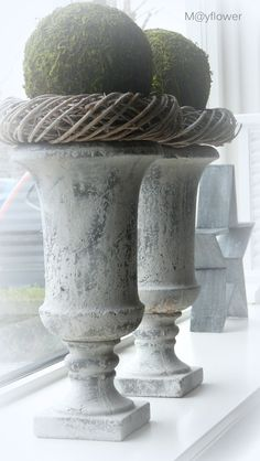 *These could be worked into most any display....textures and height are wonderful