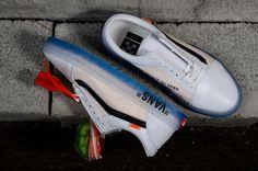c9852b0acf9 Virgil Abloh Off-White x Nike Custom Vans Old School Leather