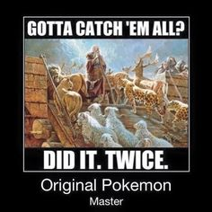 For all the #PokemonGo players... Y'all have some catching up to do.