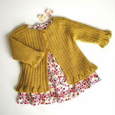 Knitting For Kids, Baby Knitting Patterns, Crochet For Kids, Baby Patterns, Knitting Projects, Crochet Baby, Knit Crochet, Sewing Art, Reborn Baby Dolls