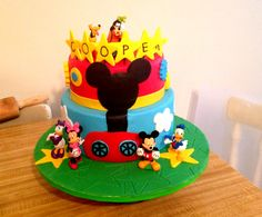 Mickey Mouse Clubhouse Birthday Cake!
