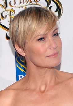 robin wright haircut | Robin Wright Pixie Hair