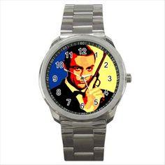 NEW* HOT JAMES BOND 007 Quality Sport Metal Wrist Watch Gift D02