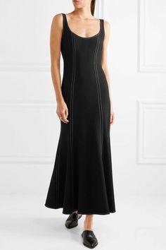 Georgia Alice - Stretch-crepe Midi Dress - Black - UK8