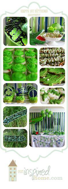 ourinspiredhome.com  *  Alligator / Crocodile Birthday Party