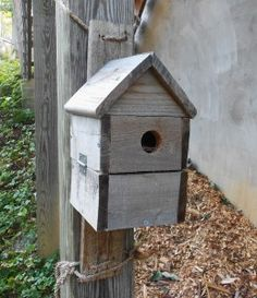 Pallet Projects: Birdhouses