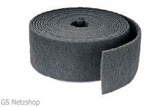Schleifvlies-rolle 115 mm breit, Silizium / K400, K1000