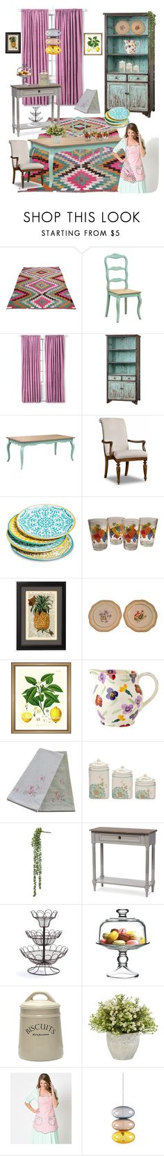 """""""THE KITCHEN IS OPEN!!!!"""" by kskafida ❤ liked on Polyvore featuring interior, interiors, interior design, home, home decor, interior decorating, Hooker Furniture, Mudhut, Shabby Chic and Baxton Studio"""