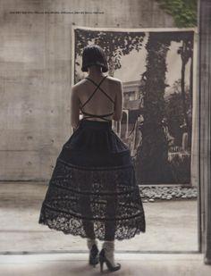 Photography : Koo Bon Chang 구본창 / Styling : Seo Young Hee 서영희 - Vogue Korea July 2014