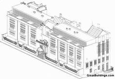Great Buildings Drawing - Glasgow School of Art
