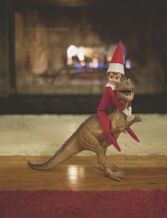 Elf On The Shelf: dinosaur