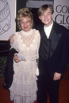 Pin for Later: See How Much Leonardo DiCaprio Has Changed Since His First Award Show Red Carpet Golden Globe Awards, 1994