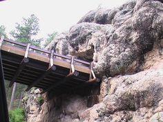 Needles highway Pigtail bridge