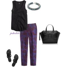 Polyvore featuring J.Crew, Tory Burch and Kate Spade