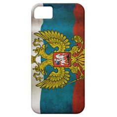 #Blowing #flag of #Russia #iPhone 5 #Case