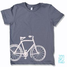kids vintage BICYCLE tee