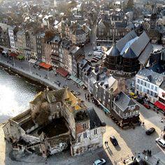 Honfleur, Calvados, Basse Normandie, France // Deltakap via Flickr