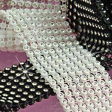 Glass Jewel Ribbon