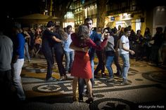 Dancing on the streets of lisboa
